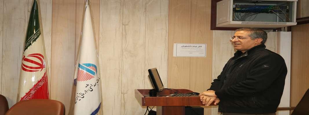 مراسم معارفه جناب آقای دکتر آزادی به عنوان معاون اداری و مالی