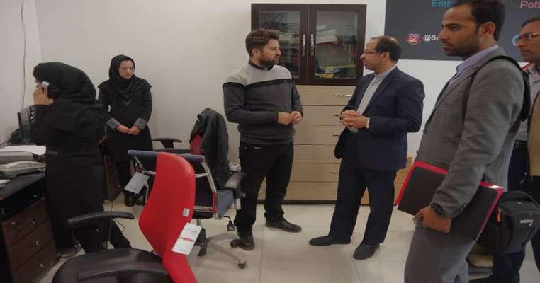 بازدید رئیس دانشگاه بین المللی چابهار