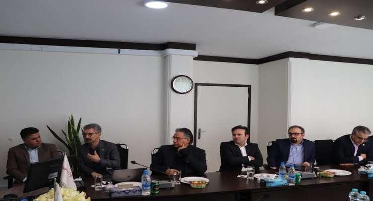 نشست مدیران بانک اقتصاد نوین و مدیران پرداخت نوین برگزار شد