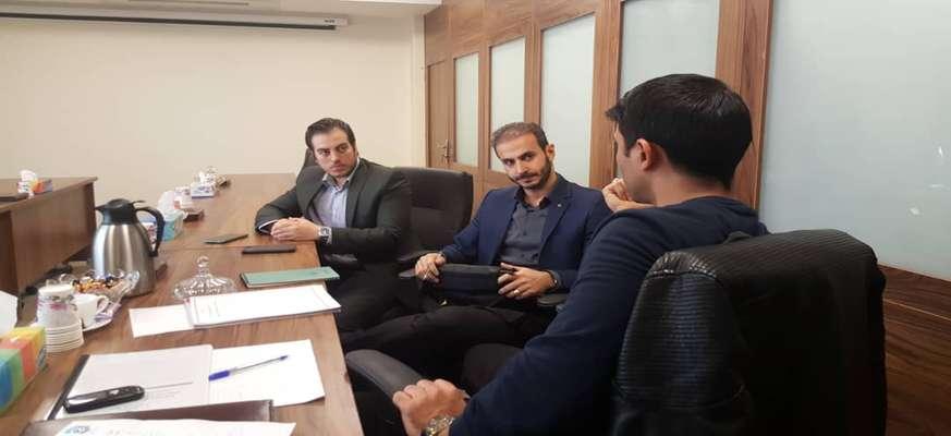 برگزاری جلسه کسب و کارهای مجازی با اداره اماکن