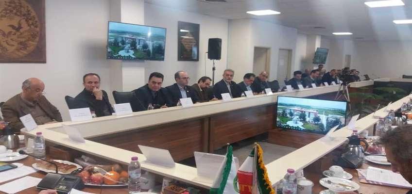 نشست دانشگاهها، موسسات تحقیقاتی و پارک های علم و فناوری ایرانی عضو اتحادیه دانشگاه های حاشیه دریای خزر