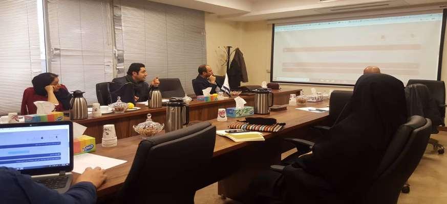 برگزاری جلسه کسب و کارهای مجازی با معاونت علمی ریاست جمهوری