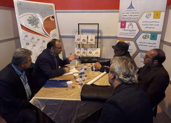 حضور مرکز رشد واحد های فناور دورود در اولین نمایشگاه شتابدهنده های آزاد کشور