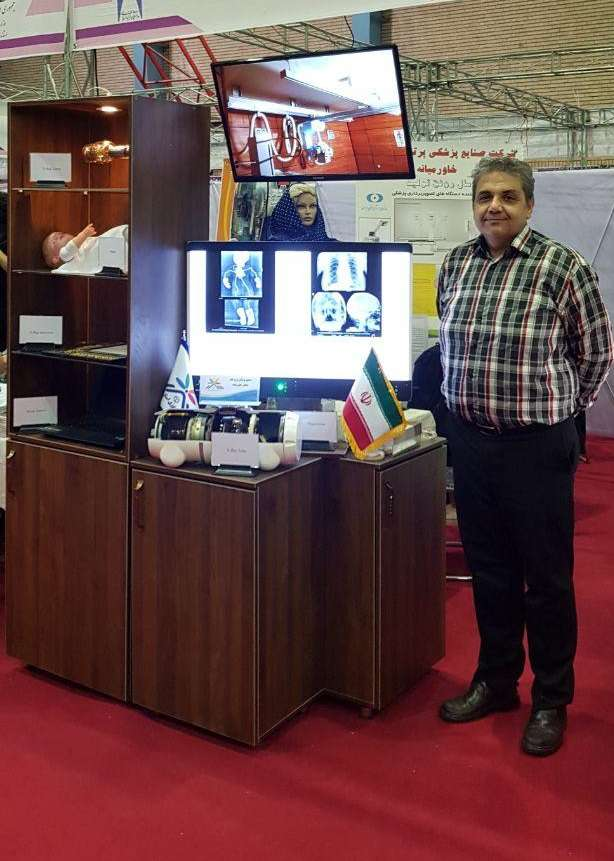 طراحی و تولید دستگاه های ایکس ری  توسط شرکت فناور پارک علم و فناوری البرز