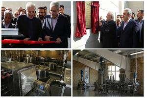 خط تولید آنزیم های صنعتی ایران ساخت افتتاح شد