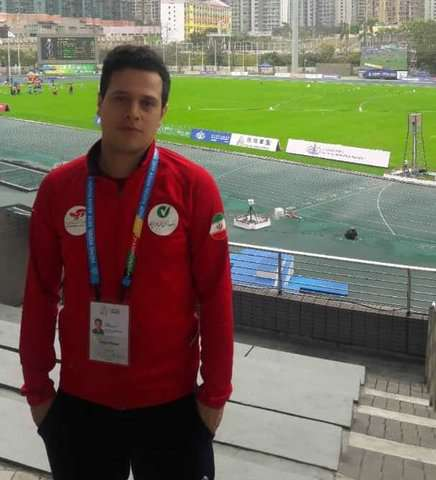 دعوت شدن همکار دانشگاه ایران به عنوان مربی به اردوی تیم دومیدانی ایران