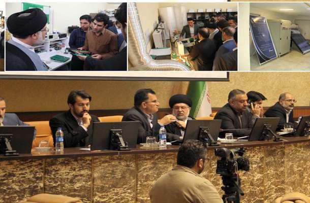 بازدید مدیران دستگاه قضائی استان از پارک علم و فناوری فارس