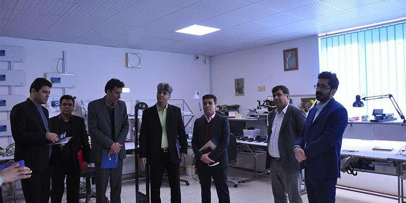 بازدید رئیس دانشگاه حکیم سبزواری از پارک علم و فناوری خراسان