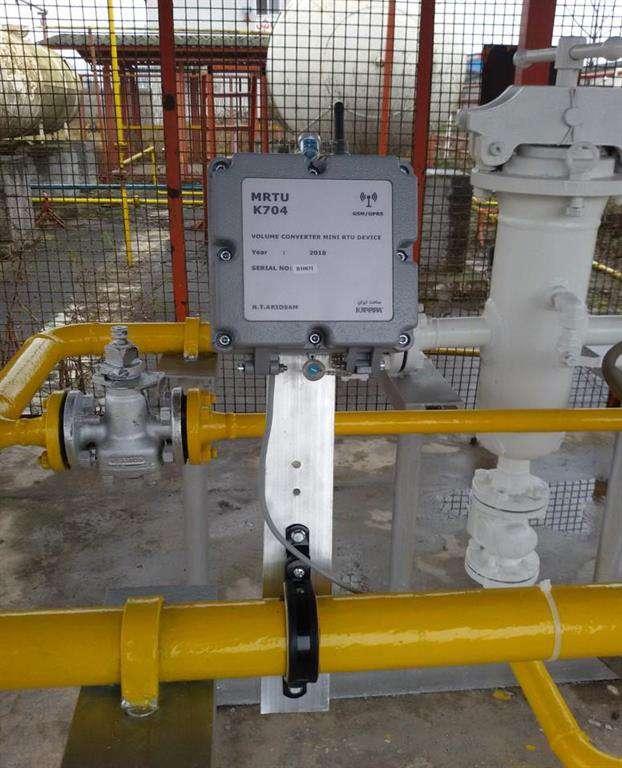 تجاری سازی محصول GASMASTER قرائت از راه دور و ثبت در وندور شرکت ملی گاز ایران