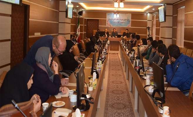 نشست خبری رییس پارک علم و فناوری کردستان و اصحاب رسانه