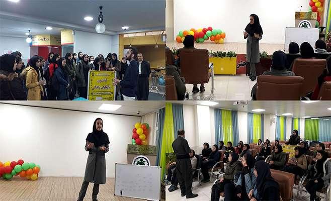 بازدید جمعی از دانشآموزان متوسطه شهید علیزاده نایسر از پارک علم و فناوری کردستان