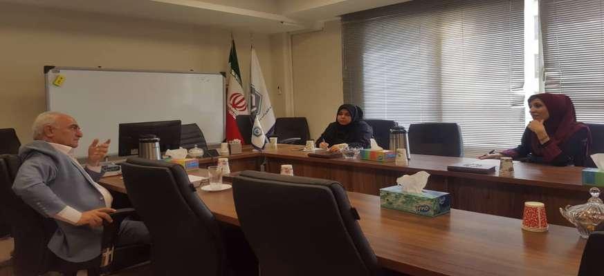 برگزاری جلسه کسب و کارهای مجازی با مشاور مالیاتی اتاق اصناف ایران