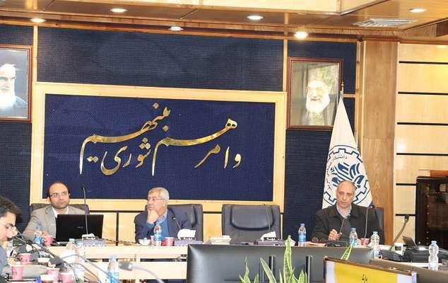 آخرین جلسه شورای پارک علم و فناوری شریف در سال ۹۸ برگزار شد.