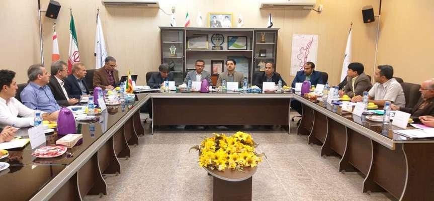 برگزاری نخستین جلسه هیئت اجرایی منابع انسانی مناطق ۲ و ۴ فناوری در سال ۹۸ در پارک زیست فناوری خلیج فارس (قشم)