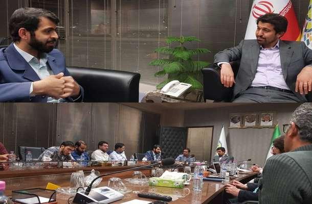 نشست صمیمانه منتخب مردم شیراز در مجلس شورای اسلامی با رییس پارک علم و فناورس فارس