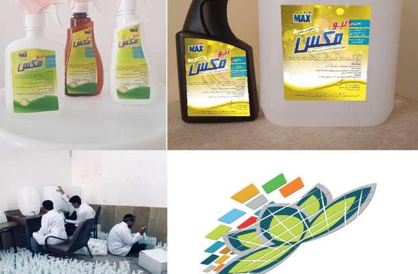 تولید روزانه بیش از ۲ هزار لیتر محلول ضدعفونی کننده در مرکز رشد فناوری جهرم