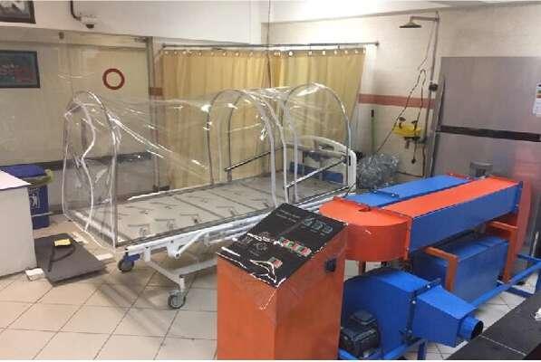 ساخت اولین محصول دانش بنیان با عنوان سامانه از بین برنده عوامل پاتوژنیک توسط دانشگاه علوم پزشکی ایران برای بیماران کرونایی