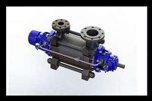 نخستین پمپ فشار قوی سامانههای شیرینسازی آب دریا ساخته شد