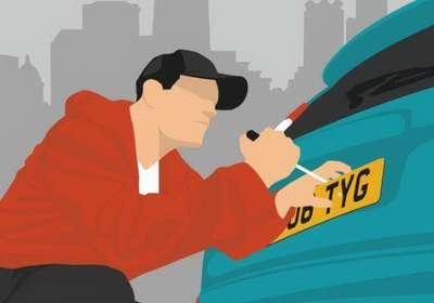 جریمه و مجازات پوشاندن و مخدوش کردن پلاک خودرو