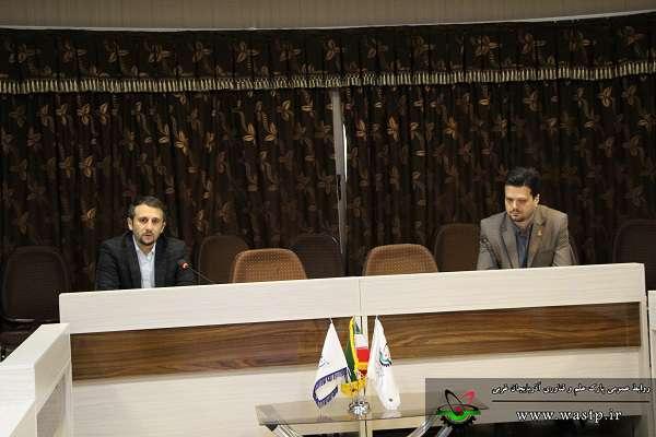 اعطای احکام اعضای شورای مرکز رشد جامع پارک علم و فناوری آذربایجان غربی