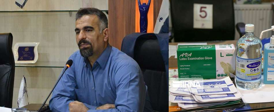 ساخت اقلام مورد نیاز مقابله با کرونا در شرکتهای دانش بنیان پارک علم و فناوری استان سمنان