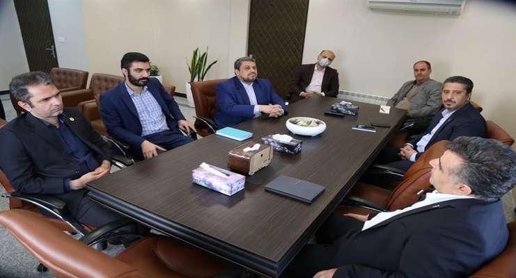 نشست ریاست بانک تجارت استان با رییس پارک و مدیرعامل صندوق پژوهش وفناوری
