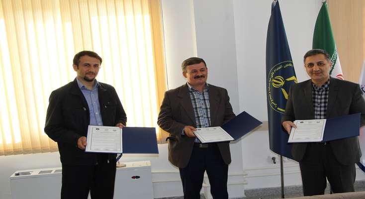 انعقاد تفاهم نامه سه جانبه پارک علم و فناوری، کمیته امداد امام خمینی و مرکز تحقیقات کشاورزی آذربایجان غربی