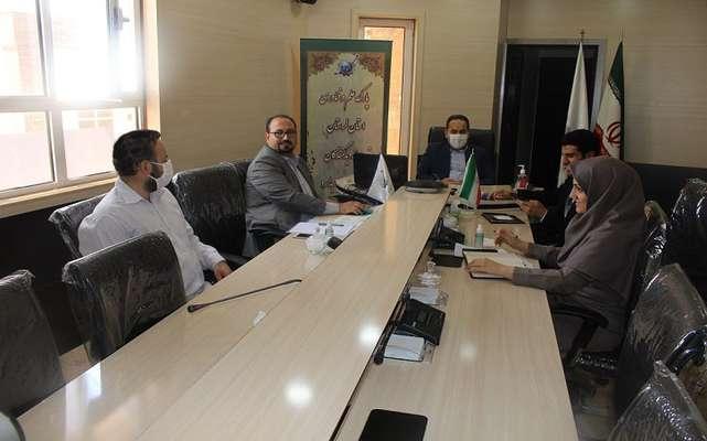 برگزاری جلسه مجازی رئیس پارک علم و فناوری با مدیران مراکز رشد
