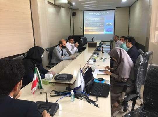 چهل و پنجمین جلسه شورای فناوری مرکز رشد واحد های فناور شهرستان خرم آباد