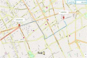 بهترین مسیر را با کمک سیستم مسیریاب ایرانساخت انتخاب کنید
