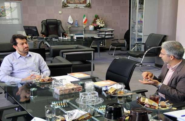 نشست مشترک روسای پارک علم و فناوری فارس و سازمان علمی پژوهشی سپاه فجر فارس