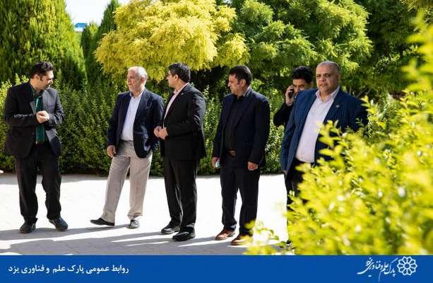 بازدید معاون وزیر ارتباطات و فناوری اطلاعات از پارک علم و فناوری یزد و شرکت های مستقر در آن