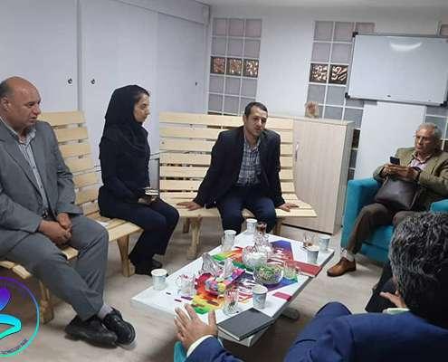 جلسه با تیم نظارت و ارزیابی معاونت علمی و فناوری