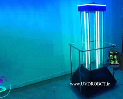 دستگاه هوشمند ضدعفونیکننده با اشعه UV در پارک