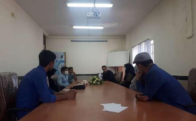 برگزاری جلسه مدیر مرکز رشد دلفان با واحدهای فناور