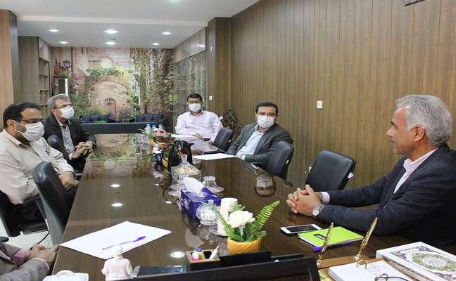 نشست رئیس و معاونین پارک علم و فناوری خلیج فارس با سرپرست دانشگاه علمی کاربردی استان بوشهر برگزار شد