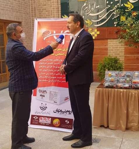 کسب رتبه اول رویداد استارت آپی بهینه سازی مصرف انرژی در صنعت توسط شرکت مستقر در پارک علم و فناوری آذربایجان غربی