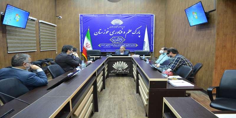 نشست معاون پژوهش و فناوری و مدیر مراکز رشد دانشگاه آزاد اسلامی اهواز با رییس پارک علم و فناوری خوزستان برگزار شد.