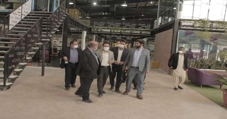 بازدید مدیر کل فرهنگ و ارشاد اسلامی سیستان و بلوچستانو هیات همراه از پارک علم و فناوری سیستان و بلوچستان
