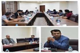 نشست مدیرعامل صندوق پژوهش و فناوری استان یزد با نمایندگان شرکت های فناور