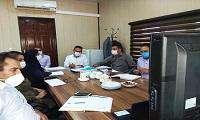 برگزاری جلسه ویدئو کنفرانس با شرکت های مستقر در پارک زیست فناوری خلیج فارس