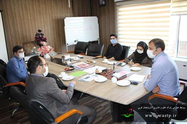 جلسه افزایش تعامل و همکاری پارک علم و فناوری آذربایجان غربی با فرهنگسرای جوان ارومیه برگزار شد