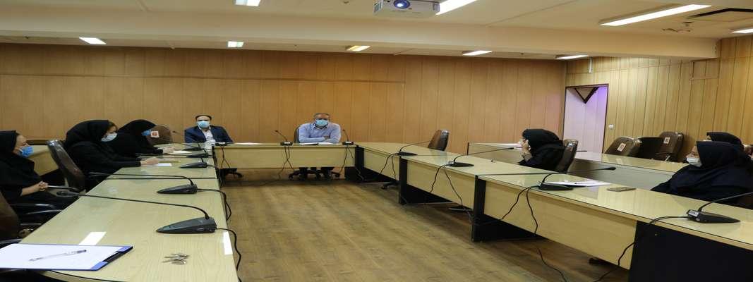نشست های فصلی هیئت رئیسه دانشکده با  معاونت آموزشی در مورخ ۳۰ تیرماه ۱۳۹۹ برگزار گردید