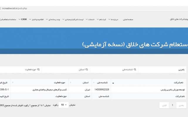 استارت آپ بامربی از استارت آپ های مرکز ملی نوآوری، شتابدهی و فناوری های ورزشی ایران، از سوی معاونت علمی و فناوری ریاست جمهوری بهعنوان شرکت خلاق شناخته شد.