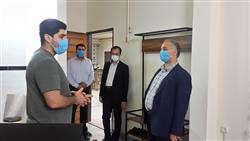 بازدید رئیس پارک علم و فناوری مازندران از مرکز رشد و نوآوری آمل