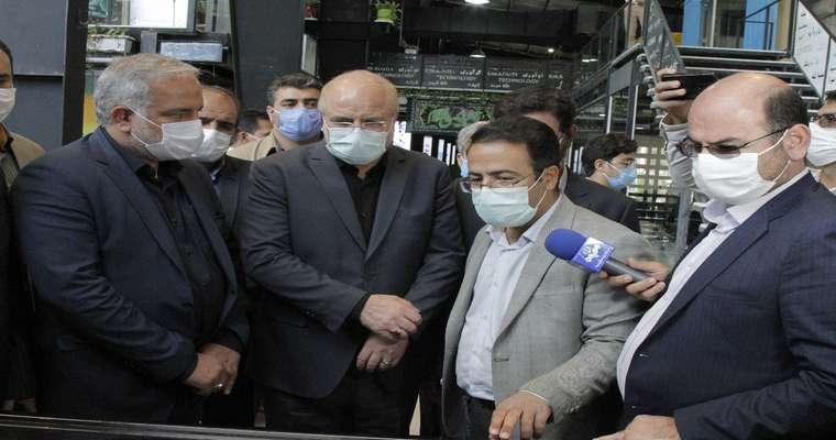 بازدید جناب آقای دکتر قالیباف، ریاست محترم مجلس شورای اسلامی