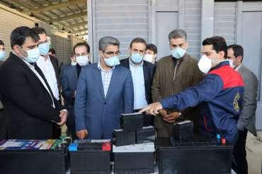 مدیر عامل بنیاد برکت از واحد های فناور و شرکت های دانش بنیان پارک علم و فناوری استان کرمانشاه بازدید کرد