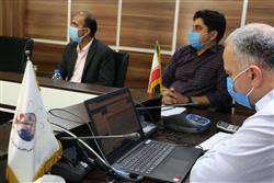 جلسه هیات امنای منطقه سه فناوری که به صورت ویدئو کنفرانس برگزار شد