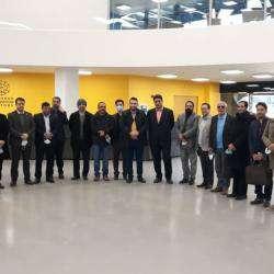 بازدید فعالان زیست بوم نوآوری و کارآفرینی از کارخانه نوآوری و رصدخانه شهری مشهد