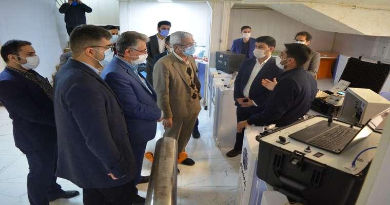 بازدید دکتر رحیمی، معاون پژوهش و فناوری وزارت علوم، تحقیقات و فناوری از پارک علم و فناوری خوزستان